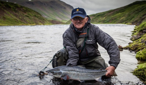 Fishing in Iceland 2019